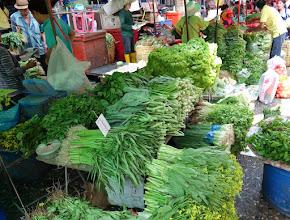 Photo: The Thais love their greens.