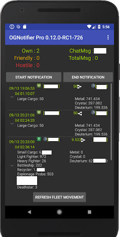 Incomming Alarm for OGame (2) Screenshot