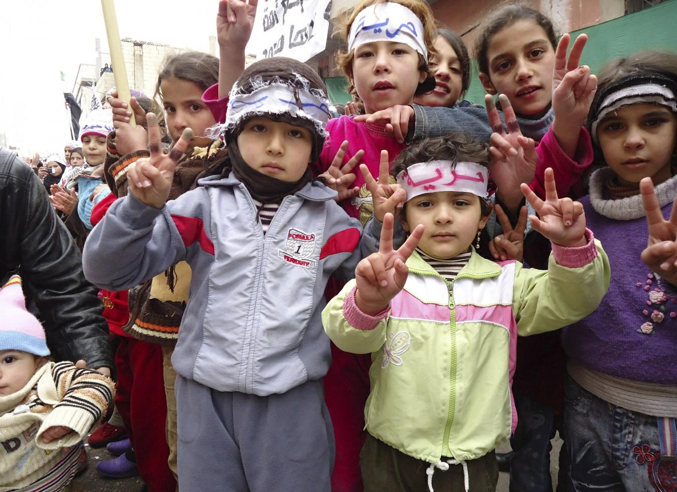 syria protest 2011