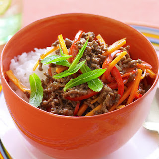 Sweet and Sour Beef and Vegetables.