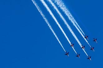 Photo: Norwegian military airpower 100 years  ノルウェー空軍100周年記念、9/1に開催されたオスロ上空のエアショー http://tokuhain.arukikata.co.jp/oslo/2012/09/norwegian_military_airpower_100years.html