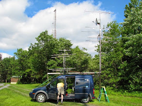 Photo: K8GP / Rover - FN00WA (looking E) - ARRL June VHF 2014