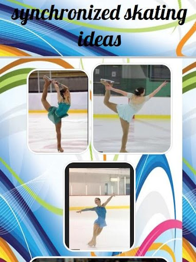 synchronized skating ideas screenshot