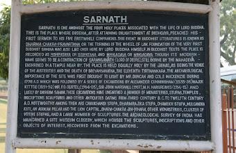 Photo: Sarnathin merkitys