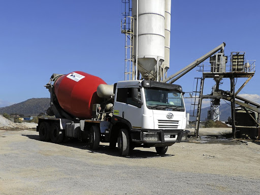 One of the concrete mixers being used by Mafate Business Enterprises. Picture: SUPPLIED