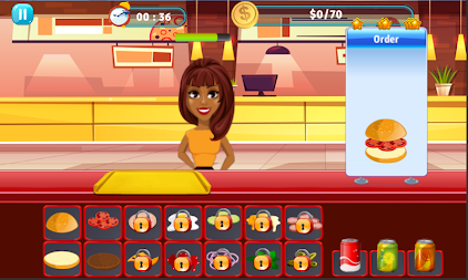 Burger Shop Crush APK screenshot thumbnail 13