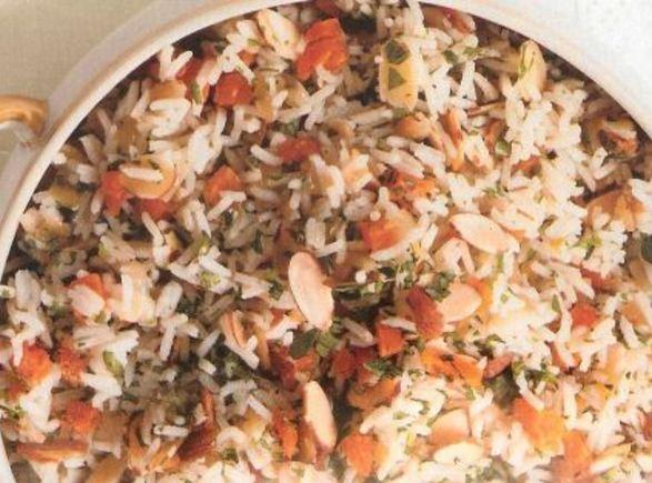 Apricot-almond Rice Recipe