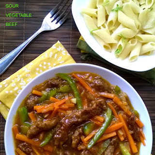 Sweet & Sour Vegetable Beef