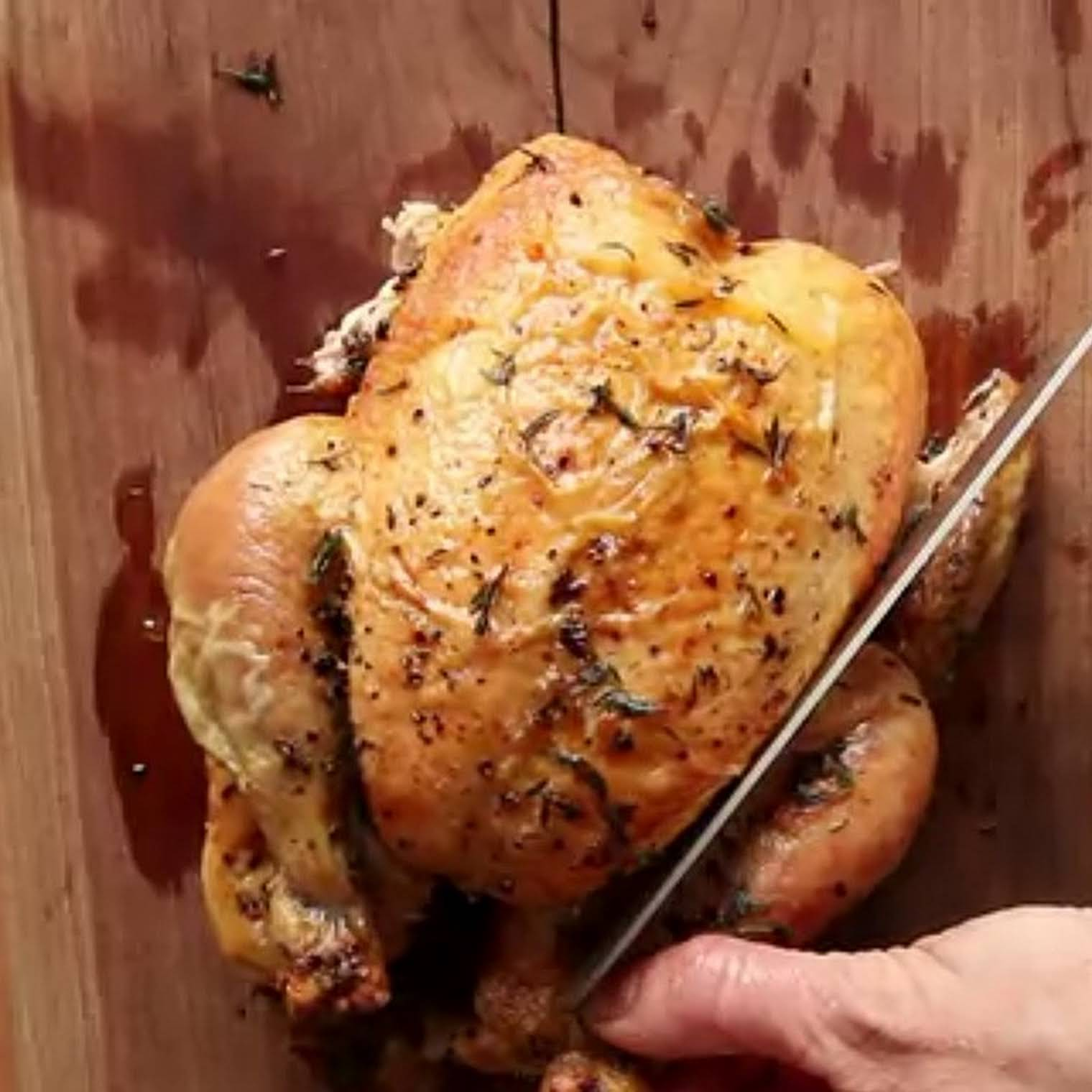 My Favorite  easily reached Roast Chicken recipe | Epicurious.com