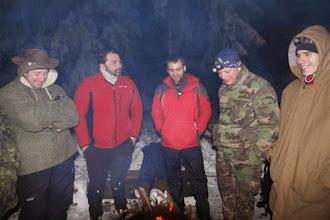 Photo: Nálada pri ohni tradične výborná