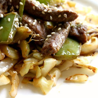 Spicy Beef Lo Mein