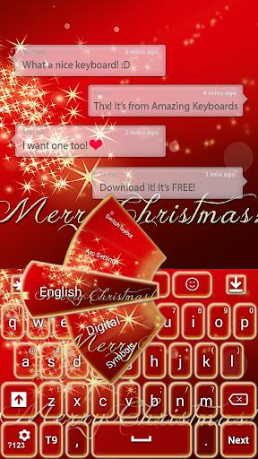 メリークリスマスキーボード