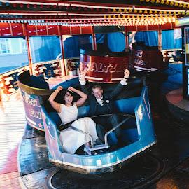 Waltzer wedding by Paul Duane - Wedding Bride & Groom ( bride, groom, wedding, fun, ireland )