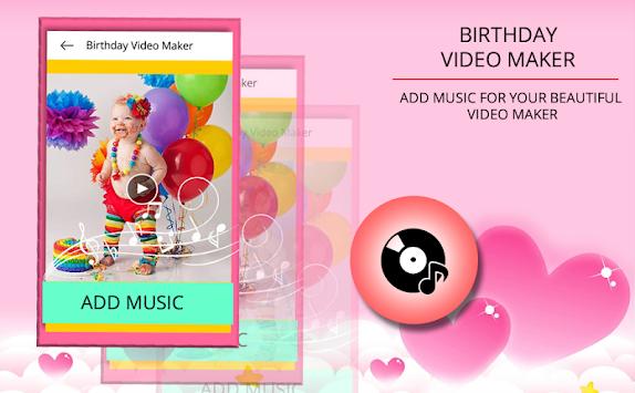 birthday video maker app with music