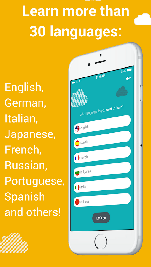 Foreign language with Worddio- screenshot