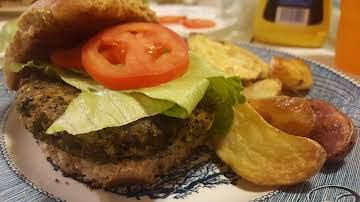 Awesome Home Made Veggie Burgers!!!