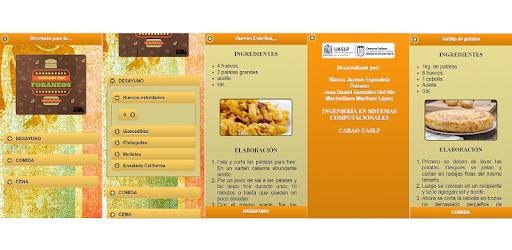 Recetario para foráneos app (apk) free download for Android/PC/Windows screenshot