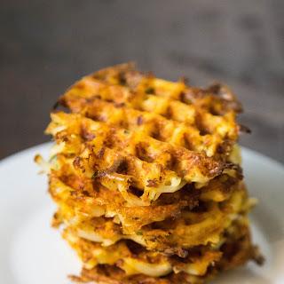 Cheddar Potato Waffle Fritters.