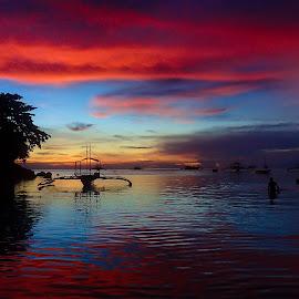 Malapascua by Sergei Tokmakov - Landscapes Sunsets & Sunrises ( sunset, sea, ocean, sunrise, tropics,  )