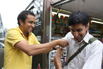 Photo: zeeshan is getting excited.