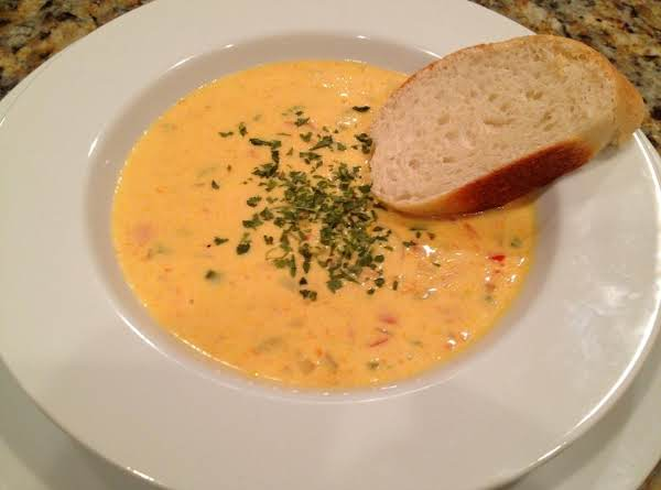 Christmas Soup.Kimmel Christmas Cheese Soup