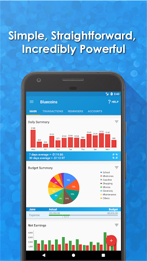 Bluecoins- Finance And Budget Premium v100.24.02 [Unlocked]