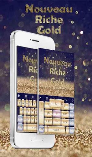 TouchPal NouveauRicheGoldTheme