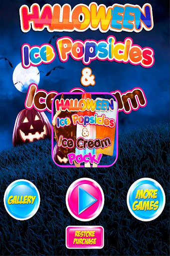 Halloween Ice Cream Ice Pops
