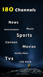 Free TV: tv shows, tv series, movies, news, sports 1