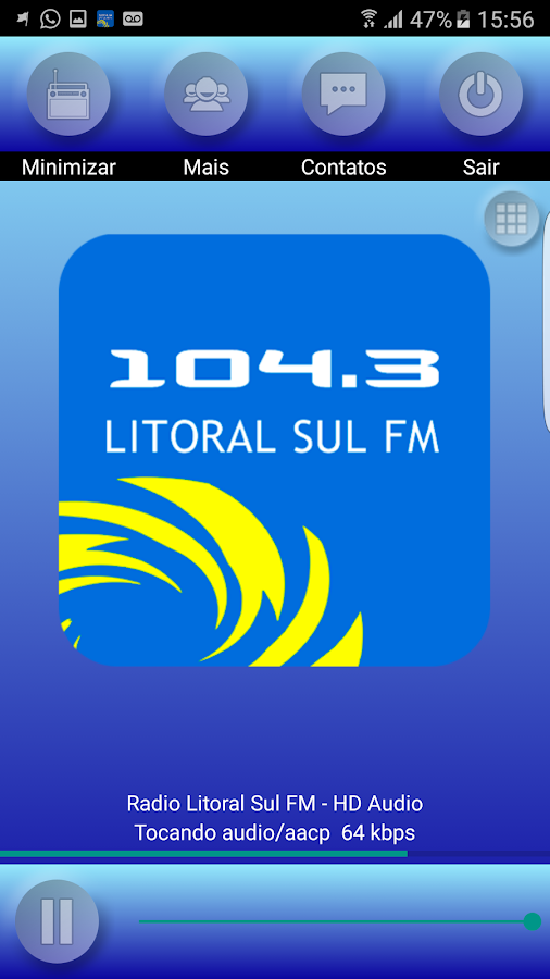 Radio Litoral Sul FM- screenshot