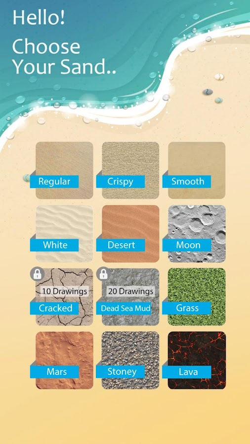 Sand Draw Sketch Drawing Pad: Creative Doodle Art- screenshot
