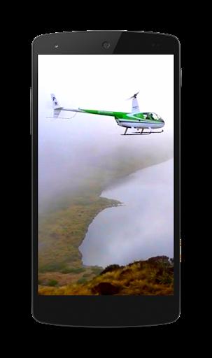 ヘリコプター動画壁紙