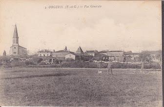 Photo: Orgueil (82) - Orgueil vu de Mondounas - Carte non voyagée
