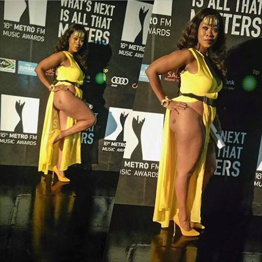 Lady in yellow dress at Metro Awards revealed Picture: Facebook