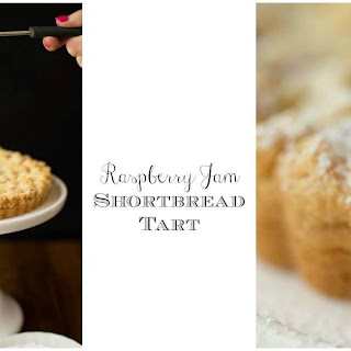 Raspberry Jam Shortbread Tart Recipe