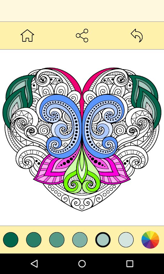 Coloring Book For : Free coloring book for adults android apps on google play