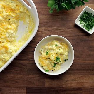 """Cauliflower """"Mac"""" And Cheese."""