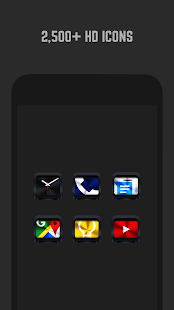 Dark Metal Icon Pack- screenshot thumbnail