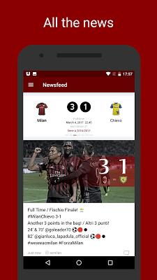 Milan Live — AC Milan News - screenshot