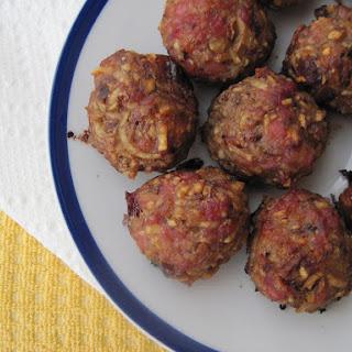 Breakfast Bacon and Maple Meatballs