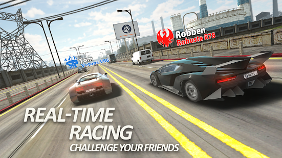 Racing Traffic Tour - multiplayer car racing Screenshot
