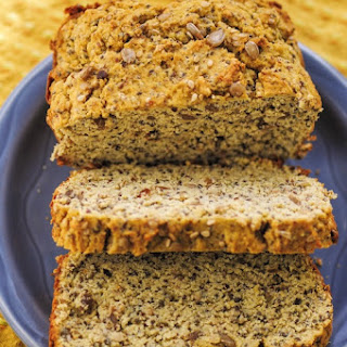The Yummiest Coconut Flour Seed Bread (Gluten Free)