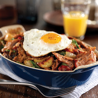 California Pulled Pork Hash.