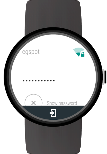 Wi-Fi Manager for Wear OS (Android Wear) screenshots 3