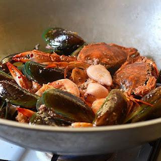 Ginataang Seafood