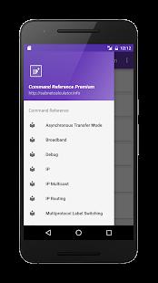 Command Reference Premium Screenshot