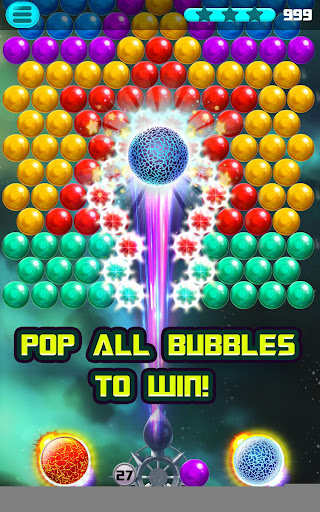 Bubble Puzzle Space - screenshot