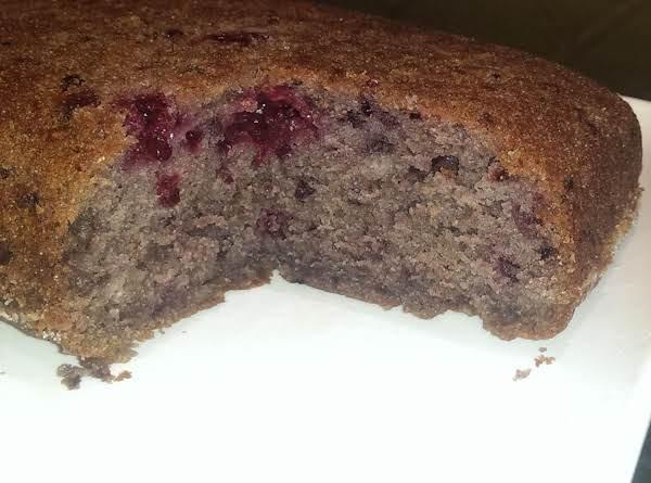 Old-fashioned Fresh Blackberry Cake