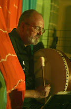 Photo: Terence McCarthaigh of Mendip Mafia performing in Priston Festival's Acoustic Showcase. © Anna Barclay 2008
