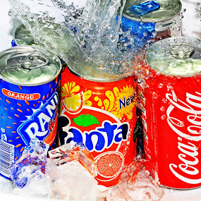 pwccans Refreshments by Lealiza Seiler - Artistic Objects Other Objects ( cans, pwccans, refreshments, drinks )